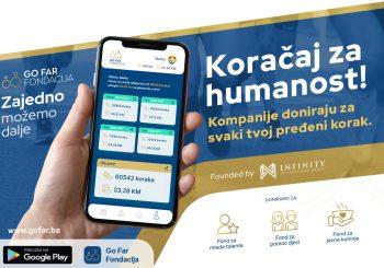 """GO FAR Fondacija: """"Koračaj za humanost"""" uskoro u Banjaluci"""