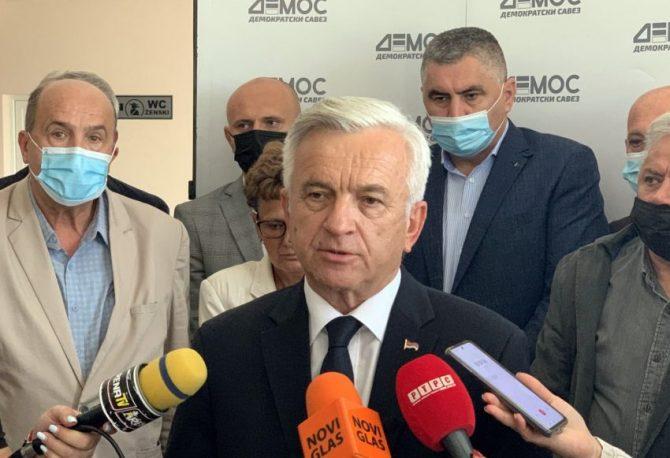 ČUBRILOVIĆ: DEMOS očekuje najmanje šest mandata u NSRS i jedan u PSBiH